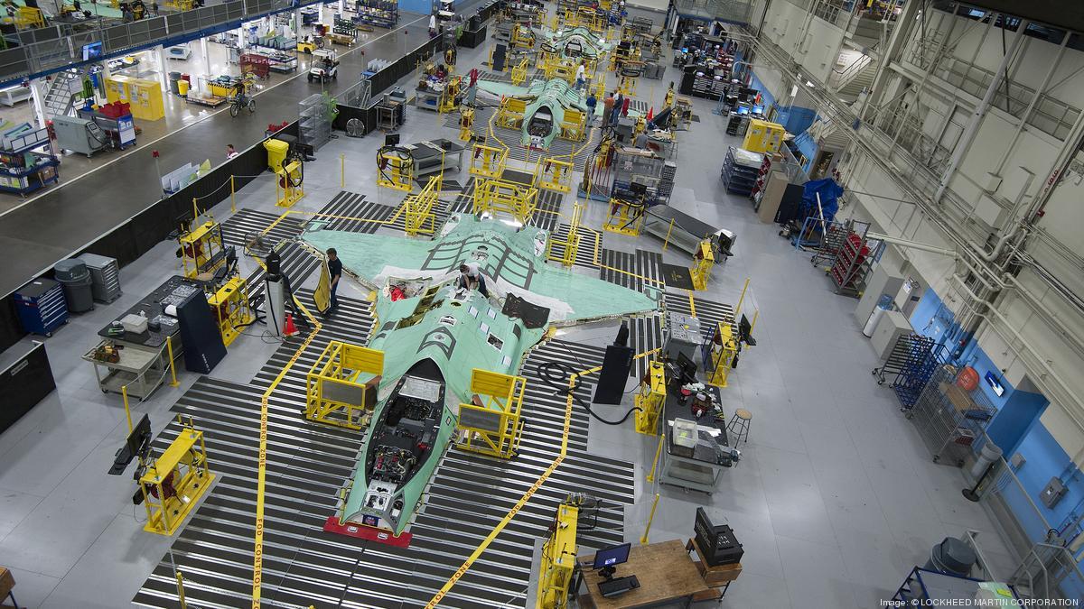 Лінія з виробництва винищувачів F-35