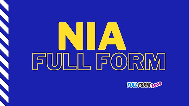 Full Form of NIA