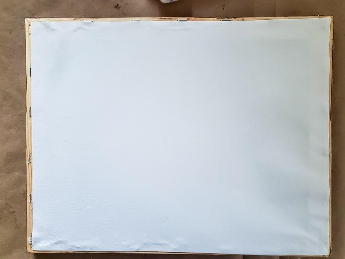 reassemble canvas
