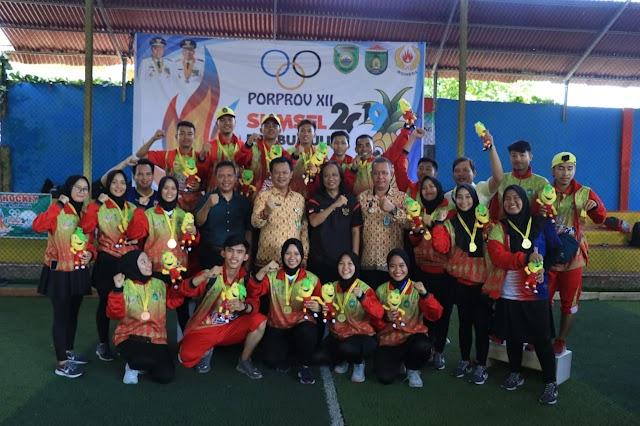 Tim Putri Prabumulih Raih Juara 1 Cabor Hockey