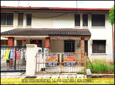 Ipoh Bercham Taman Ramai Double Storey House For Sale