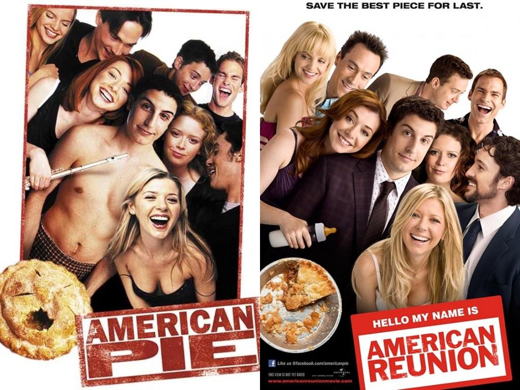 American Pie Una Fiesta En Pelotas punto en boca.: sagas y trilogias que tu retina no
