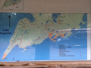 Sleeping Giant Backcountry Hiking Map