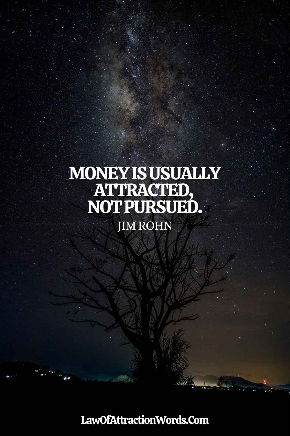 Short Law Of Attraction Quotes Money