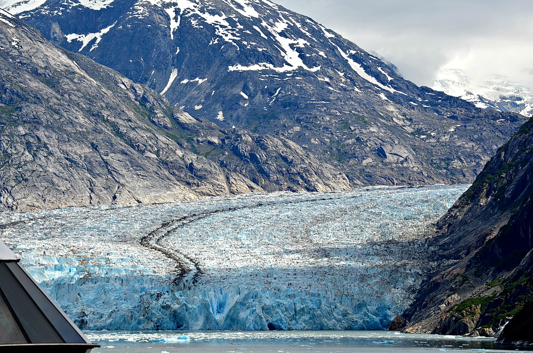 Tracy Arm Fjords Glacier with Holland America ms Amsterdam Cruise Line