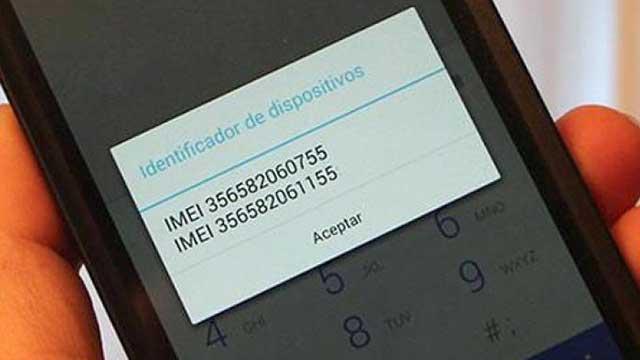 tengo dos IMEI diferentes en mi celular