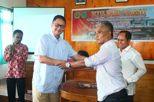 LSF RI Berikan Kuliah di STISIP Mbojo Bima