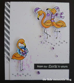 From our flock to yours by Dawn feature Festive Flamingos by Newton's Nook Designs; #newtonsnook