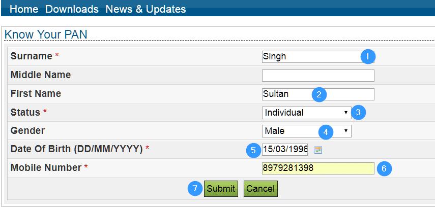 Pan Card Status check in hindi