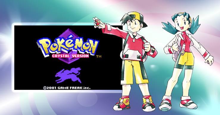 Pokémon Crystal ganhará versão para o Nintendo 3DS