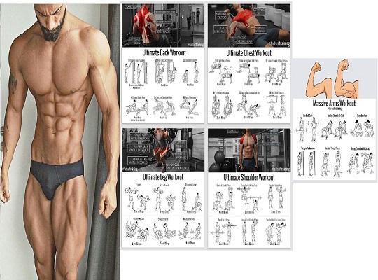Best Five Days Full Body Workout Program