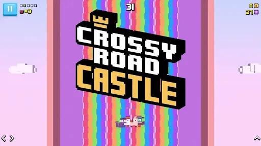 Crossy Road Castle متعة منصة تعاونية لا نهاية لها