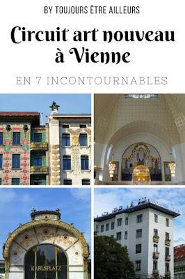 Une balade art nouveau à Vienne, à la découverte de sept bâtiments emblématiques. #Vienna #Wien #Jugendstil #Secession #Autriche #Austria
