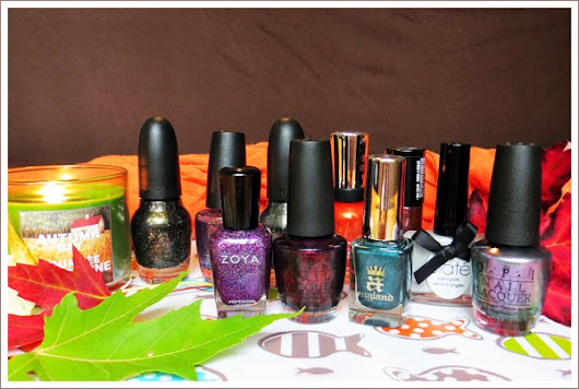 Quick Swatch: Fall Nail Polish Picks (2013)