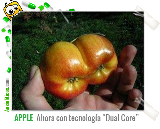 Chiste de Apple: Dual Core