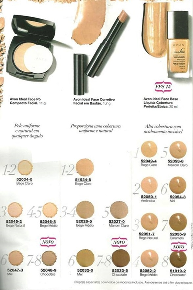 Avon Ideal Face