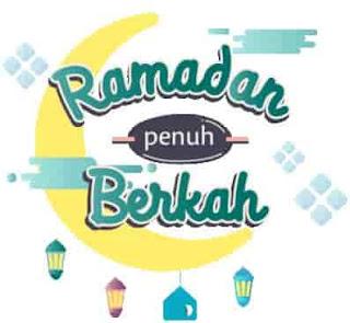 ucapan stiker ramadhan