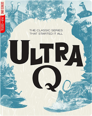 Steelbook cover for Mill Creek's ULTRA Q: The Complete Series Blu-ray!