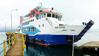 PT ASDP Indonesia Ferry Operasikan Dua Kapal Perintis Baru dari Kemenhub