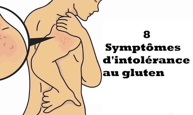 10 Symptômes d'intolérance au gluten