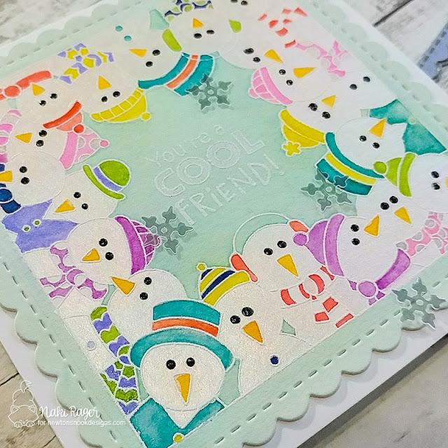 Newton's Nook Designs Snowman Party Set - Naki Rager