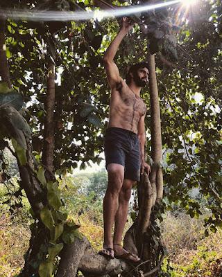 Sexiest Indian Hairy Male Model Karran Kharas
