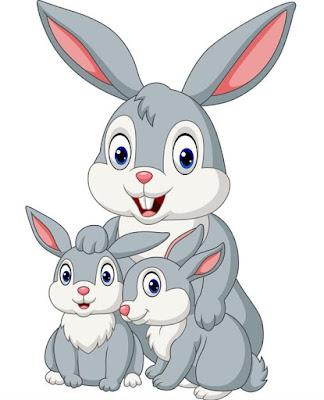 Gambar kelinci kartun