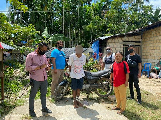 Pria Diduga Pelaku Penganiayaan yang Ditangkap Polsek Japut Ternyata Spesialis Curanmor di Jayapura