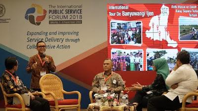 Bupati Abdullah Azwar Anas jadi pembicara dalam IPSF 2018.