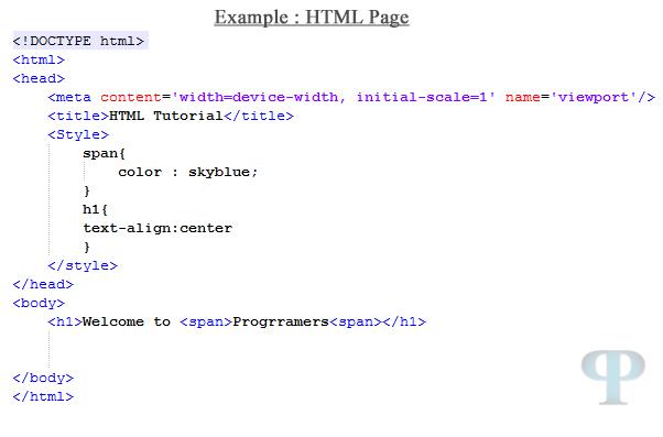 HTML Tutorial, HTML5 Tutorial, HTML, html tutorials 5