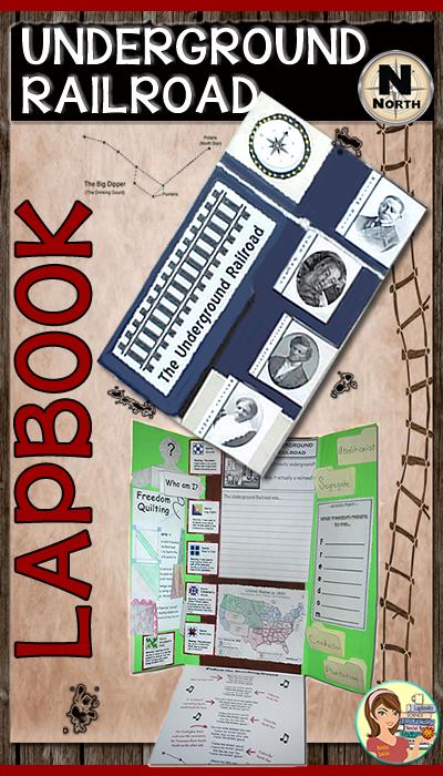 https://www.teacherspayteachers.com/Product/Underground-Railroad-Lapbook-522544?utm_source=MYBLOG&utm_campaign=UGRR_VIDEO