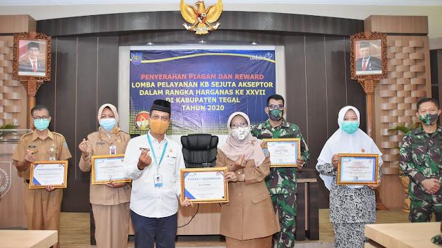 Terbaik Ke-II di Jateng, Akseptor KB Kabupaten Tegal Sukses Melebihi Target