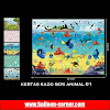 Kertas Kado Seri ANIMAL (01)