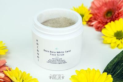Koconoi: Bora Bora White Sand Exfoliante facial