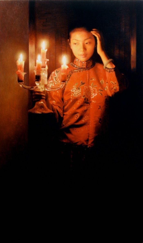 Мягкие и успокаивающие картины. Zhang Yibo