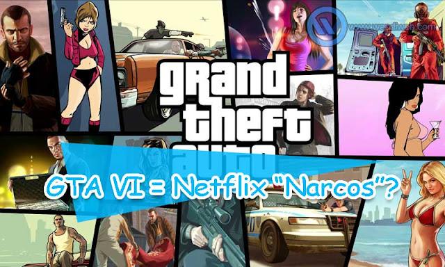 GTA VI Dikabarkan Akan Mengusung Latar Seperti Serial 'Narcos' di Netflix - WandiWeb