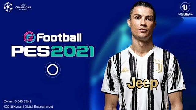 eFootball PES 2021 Mobile 4.6.1 UCL Graphics Patch Android High Graphics