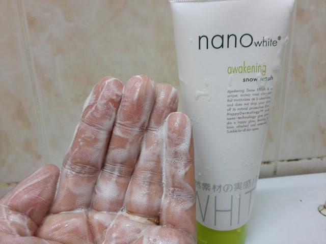 nanowhite Snow Wash
