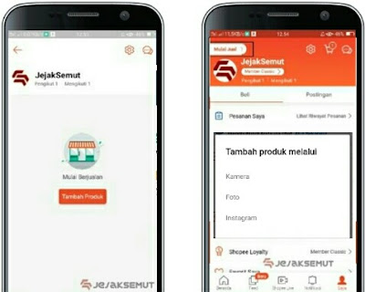 cara upload produk di shopee