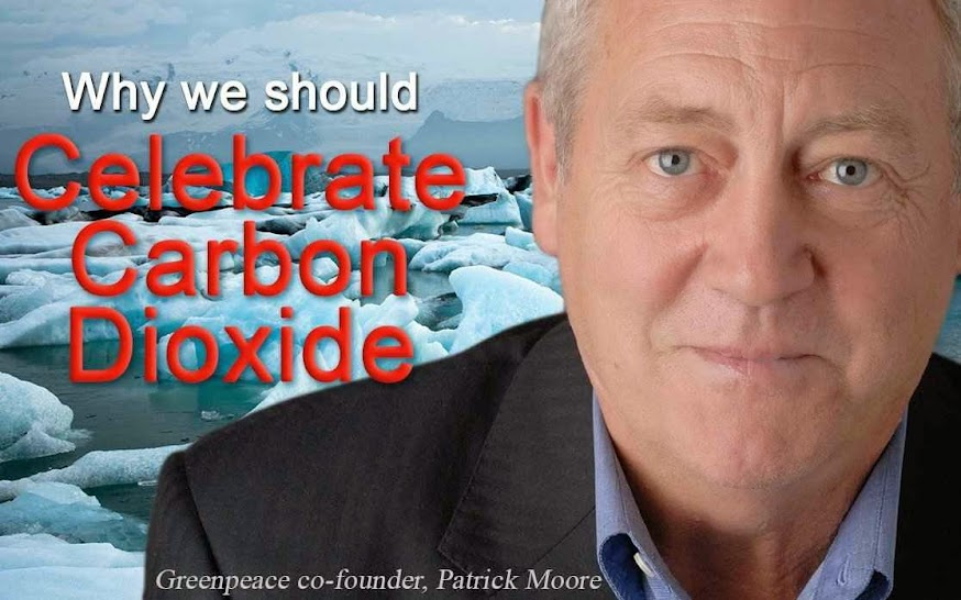 """""""Comemoremos o aumento do CO2"""", diz ex-cofundador de Greenpeace"""