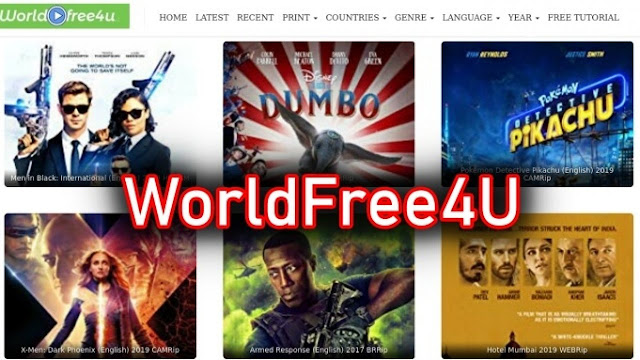 WorldFree4u latest bollywood movies download site