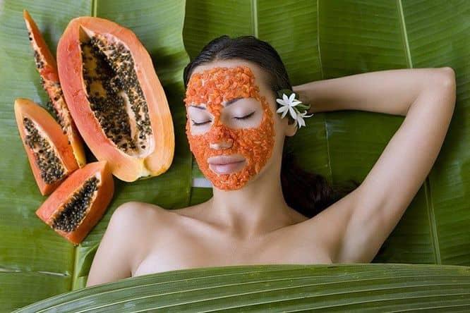 cara memutihkan kulit dengan masker pepaya