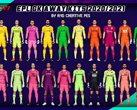 PES 2017 EPL Goal Keeper Away Kits 2020/2021
