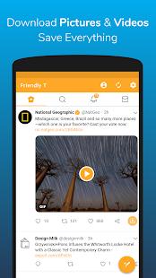تحميل تطبيق Friendly For Twitter 3.1.2.apk