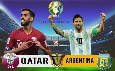 مشاهدة مباراة الأرجنتين وقطر بث مباشر اليوم 23-6-2019 في كوبا امريكا 2019