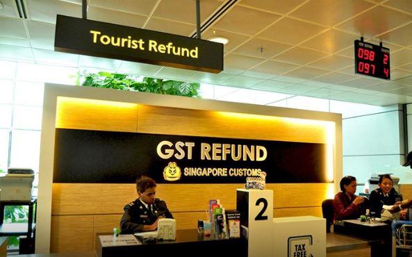 GST refund singapore