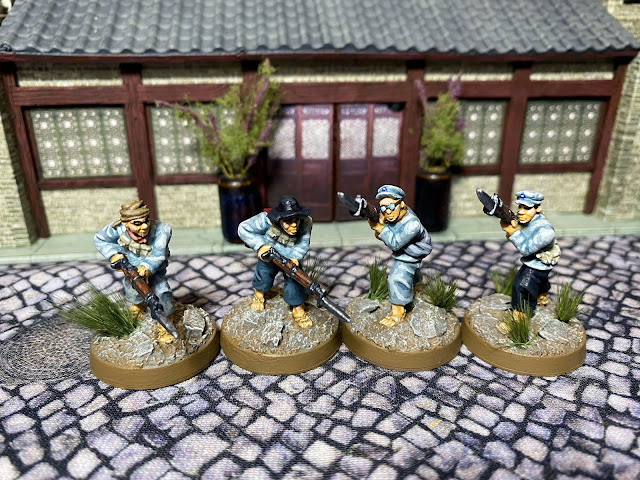 28mm Pulp Figures/Crucible Crush Chinese for Bolt Action WW2 and Back of Beyond