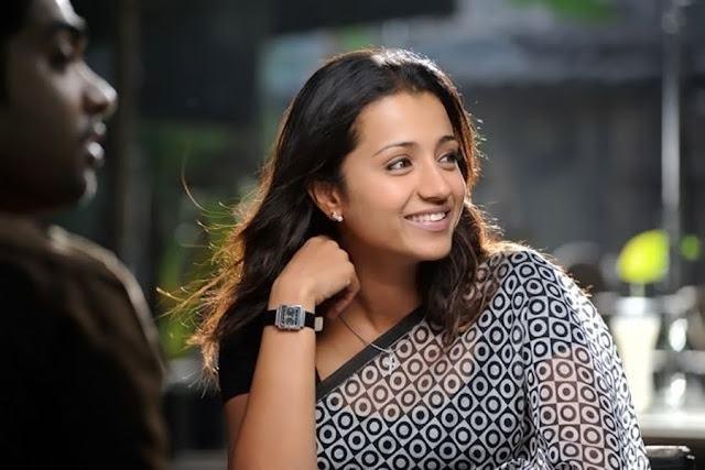 Tamil actress Trisha cute smiling pics