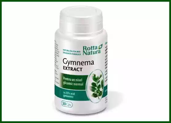 GYMNEMA extract Rotta Natura păreri forumuri, prospect, beneficii, compoziție și contraindicații