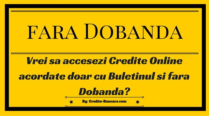 Credit urgent online fara acte